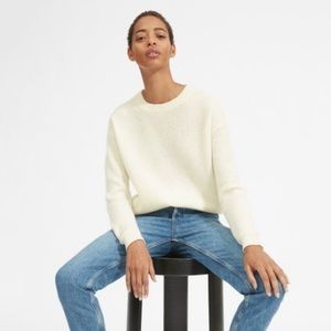 Everlane Ribbed Cashmere Crewneck Sweater